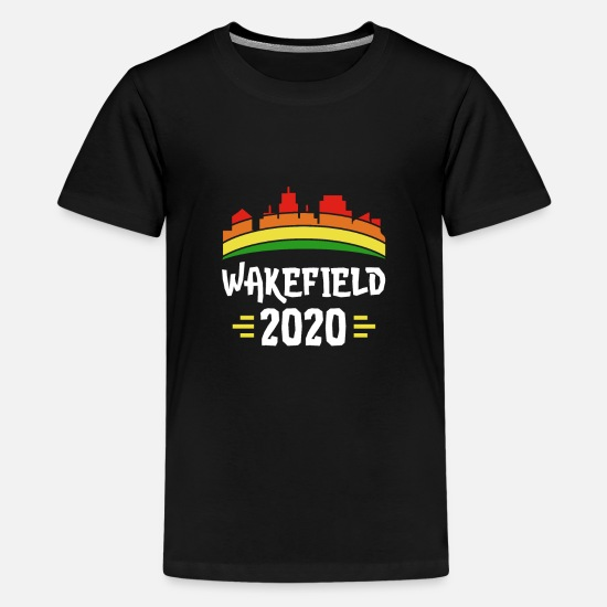 The Wakefield T-Shirts - City Trip 2020 Wakefield England - Kids' Premium T-Shirt black