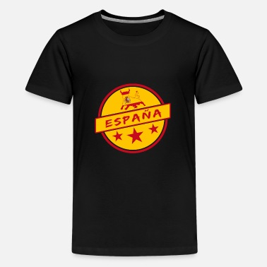 Flags Spain Spain Bull Design / Espana Gift Madrid - Kids' Premium T-Shirt