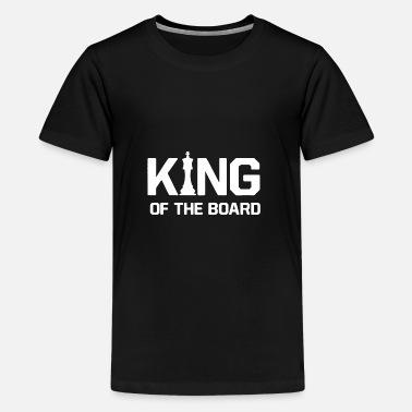 Tape King on the board 01 - Kids' Premium T-Shirt