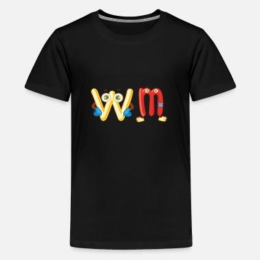 wm suisse suisse T-shirt rétro-shirt ringer t
