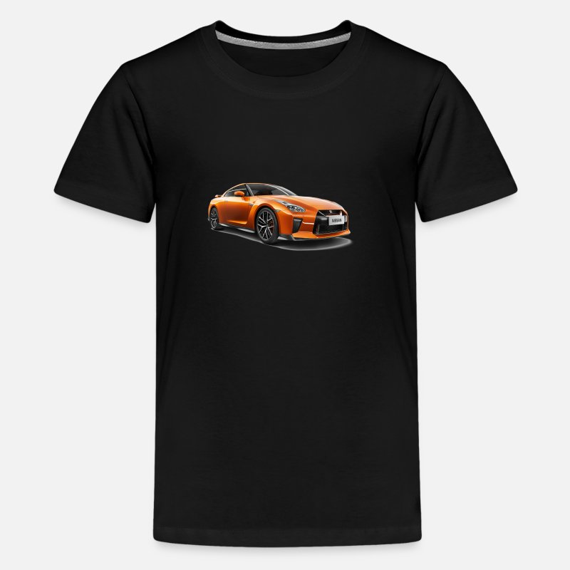 Youtube T-Shirts - Nissan gtr merchandise - Kids' Premium T-Shirt black