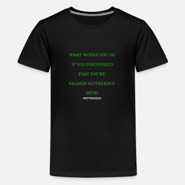 Slytherin Slytherins Heir - Kids' Premium T-Shirt