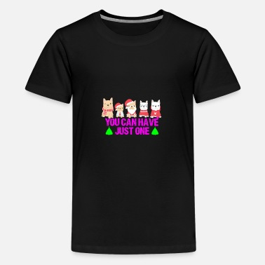 Wuff Dog Christmas Santa Shirt Wuff - Kids' Premium T-Shirt