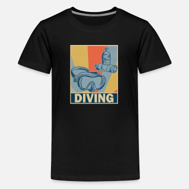 Diving - Kids' Premium T-Shirt