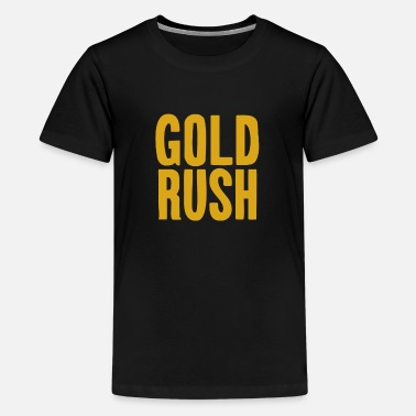 Golden-retriever-channel Gold Rush Official Discovery Channel Merchandise A - Kids' Premium T-Shirt