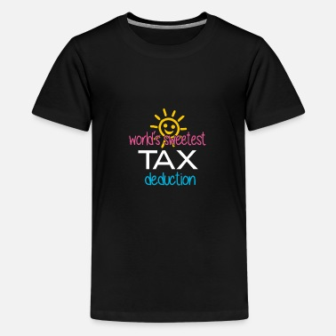 Tax Man Tax Day | Tax Deduction | Funny Tax Design - Kids' Premium T-Shirt