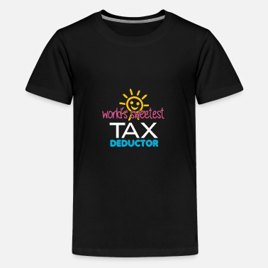 Tax Man Tax Day | Tax Deductor | Funny Tax Design - Kids' Premium T-Shirt