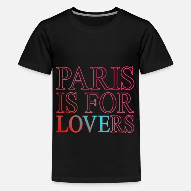 Fatal paris is for lovers - Kids' Premium T-Shirt