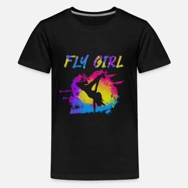 Bboy Breakdancing Breakdance Gift I BGirl Fly Girl - Kids' Premium T-Shirt