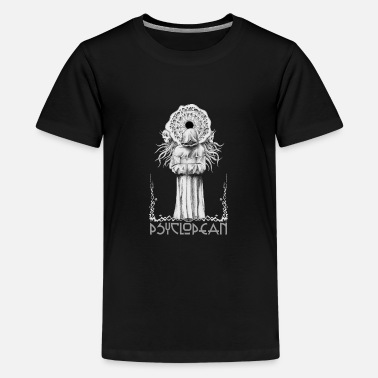 Chamber Music Psyclopean cultist dungeon synth ambient shirt - Kids' Premium T-Shirt