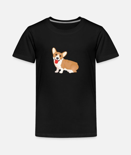 Rescue T-Shirts - Dog - Pet - Animals - Corgi - Kids' Premium T-Shirt black