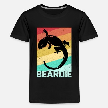 Gecko Bearded Dragon - Kids' Premium T-Shirt