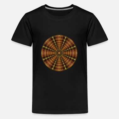 Chakra Ancient Temple Mandala - Kids' Premium T-Shirt