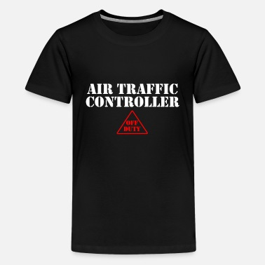 Airfield Air Traffic Controller Airfield Flight Controller - Kids' Premium T-Shirt