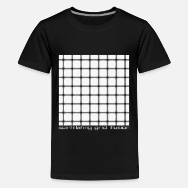Illusion geometric illusion - Kids' Premium T-Shirt