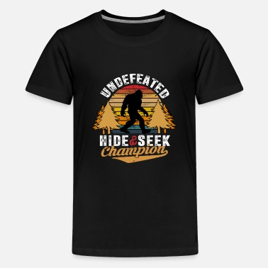 Seek Undefeated Hide And Seek World Champion - Kids' Premium T-Shirt