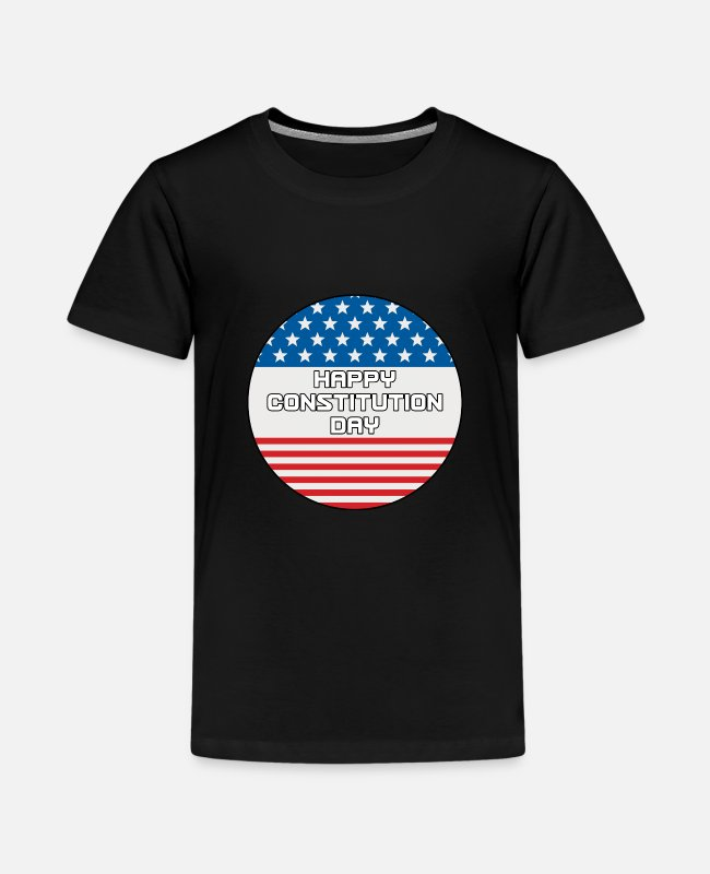 American T-Shirts - Citizenship Day Happy Constitution Day Naturalizat - Kids' Premium T-Shirt black