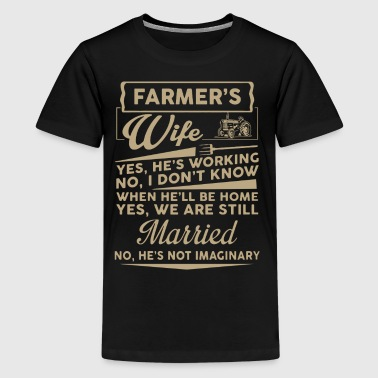 Farmer Wife Shirt - Kids' Premium T-Shirt