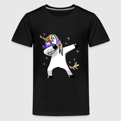 Dabbing Unicorn Funny Magic - Kids' Premium T-Shirt