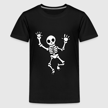 Ein Comic Skelett - Kids' Premium T-Shirt