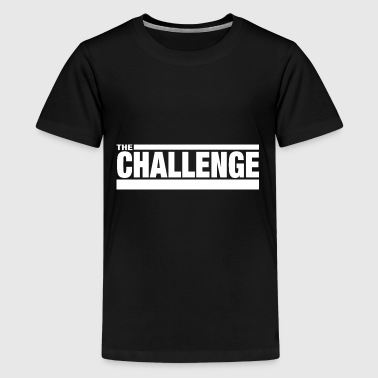 MTV The Challenge Logo - Kids' Premium T-Shirt