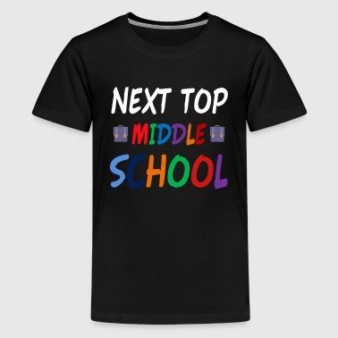 Next Stop Middle School - Kids' Premium T-Shirt
