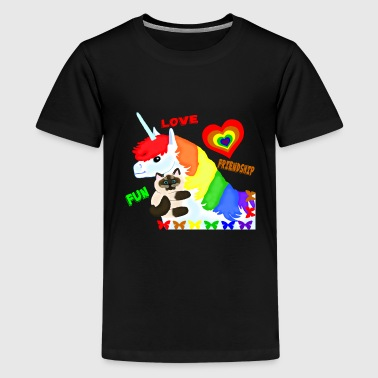 Love, Friendship, Fun - Kids' Premium T-Shirt
