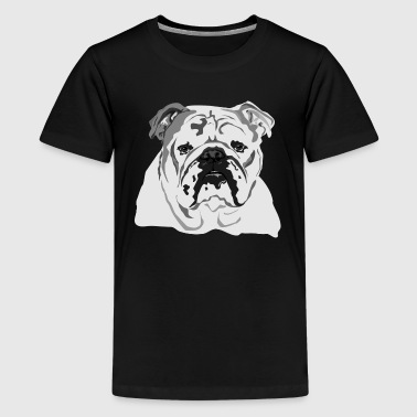 English Bulldog - Kid's - Kids' Premium T-Shirt