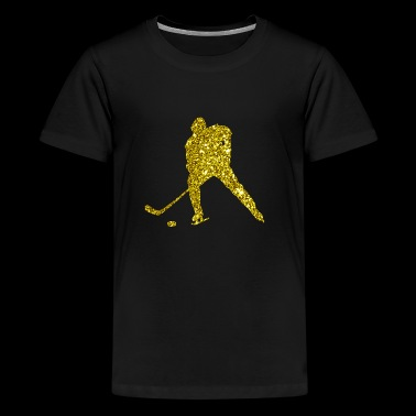 Golden Ice Hockey - Kids' Premium T-Shirt