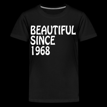 Beautiful Since 1968 Happy Birthday Beautiful Shirt - Kids' Premium T-Shirt