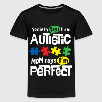 AUTISM AWARENESS SHIRT FOR KIDS - I AM PERFECT - Kids' Premium T-Shirt