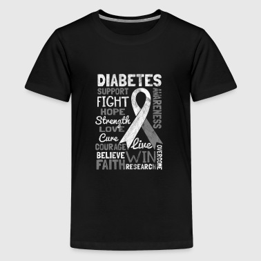 Shirt for diabetes awareness day - diabetes type 1 - Kids' Premium T-Shirt