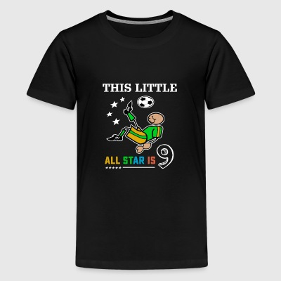 Soccer tshirts for boys 9th birthday kids gift - Kids' Premium T-Shirt