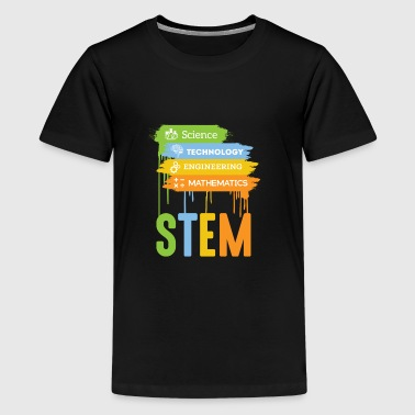 STEM Science Technology Engineering Math School - Kids' Premium T-Shirt