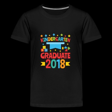 Kindergarten Graduation Cute - Graduate 2018 - Kids' Premium T-Shirt