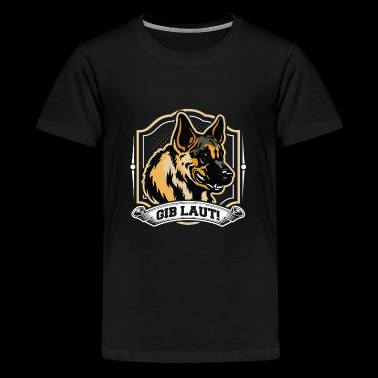 German Shepherd Protection Dog Gift Shirt - Kids' Premium T-Shirt