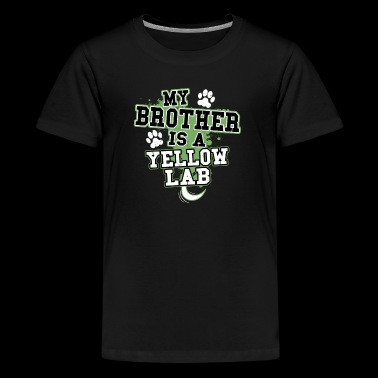 My Brother Is A Yellow Lab - Kids' Premium T-Shirt