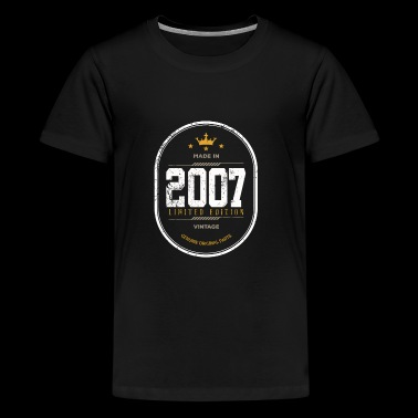 Made In 2007 Limited Edition Vintage - Kids' Premium T-Shirt