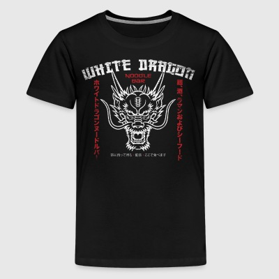 White Dragon Noodle Bar - Kids' Premium T-Shirt