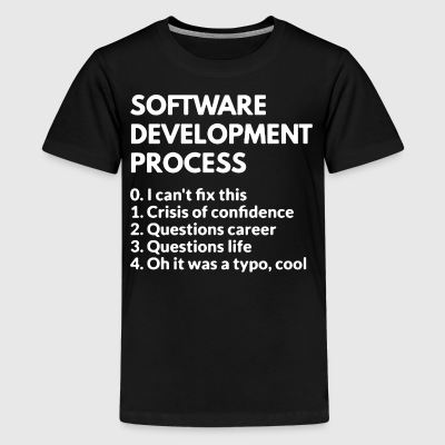 Software Development Process Shirt - Kids' Premium T-Shirt