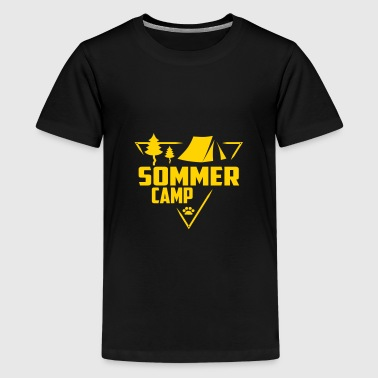Summer Camp - Scouts, Kids, Wildlife - Kids' Premium T-Shirt