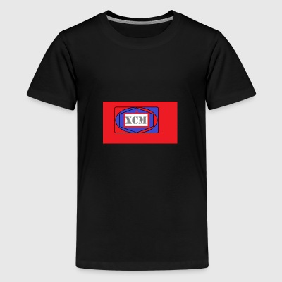 XCM Blue n red - Kids' Premium T-Shirt