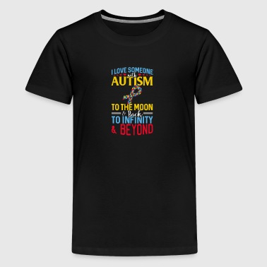 I love someone with Autism - Kids' Premium T-Shirt
