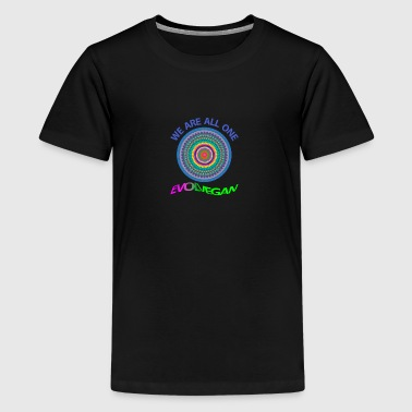 ROSETTE WE ARE ALL ONE - Kids' Premium T-Shirt