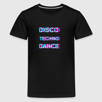 Disco dance techno - Kids' Premium T-Shirt