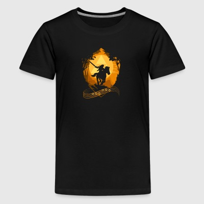 Knight Riding Cyber System - Kids' Premium T-Shirt