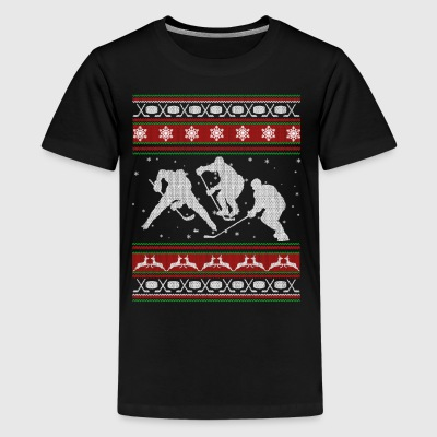 Hockey Shirts - Hockey Christmas Shirt - Kids' Premium T-Shirt