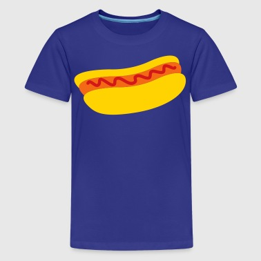 hot dog with ketchup tomato sauce - Kids' Premium T-Shirt