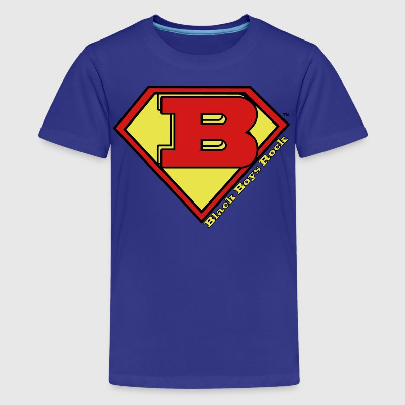 Kids Super Logo T-Shirt  - Kids' Premium T-Shirt