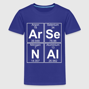 Ar-Se-N-Al (arsenal) - Full - Kids' Premium T-Shirt